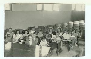Central School, Mrs. Warner's 7th Grade, 1947